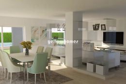 Modern three bedroom villa under construction near...